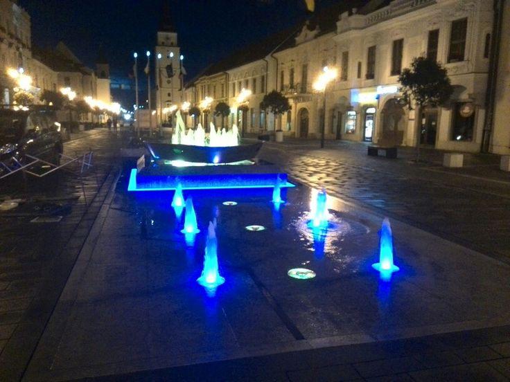 Trnava Slovakia fountain