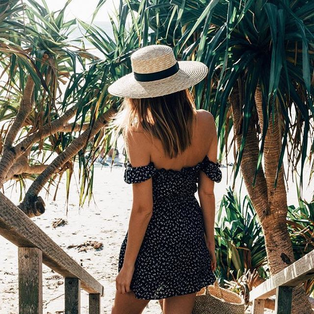 I love the romantic little details on the Muse Play dress. Perfect for a day by the beach, followed by a few drinks with the girls... Jessica xx  #augustethelabel #shelivesfree  | Tuula Vintage X Auguste The Label