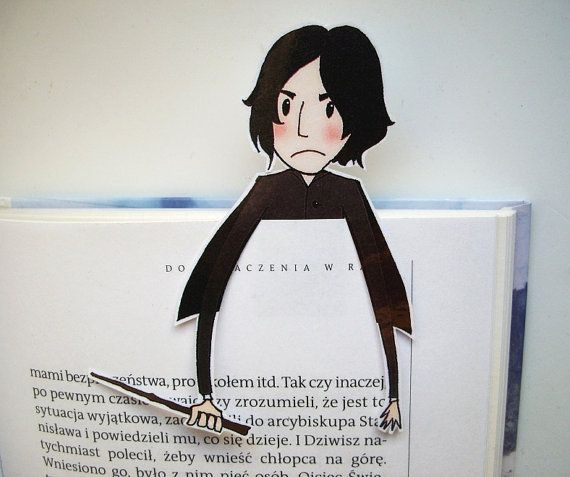 Hey, I found this really awesome Etsy listing at https://www.etsy.com/listing/262080816/snape-harry-potter-bookmark