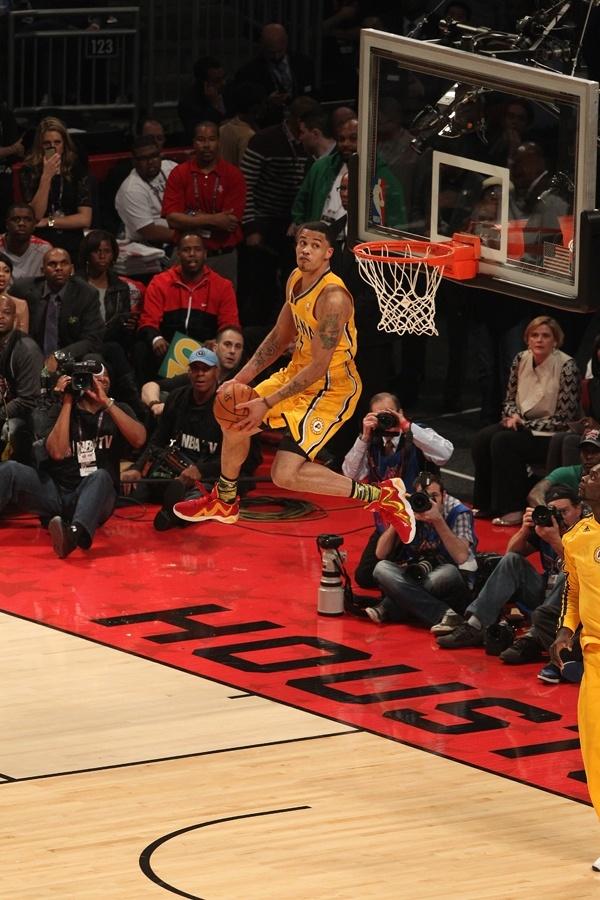 Gerald Green's dunk at 2013 NBA All-Star Weekend