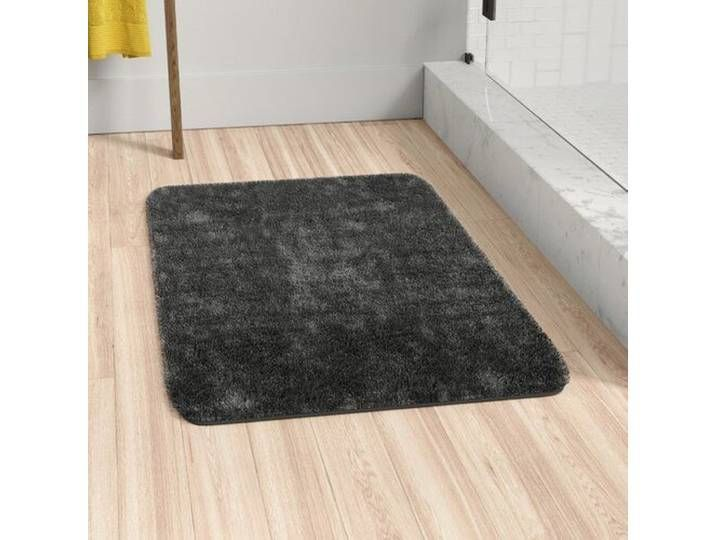 Make Your Bathroom Cosier Than Ever With This Bathmat Made From 100 Polyester Fibres That Are Woven Into A N In 2020 Long Bathroom Rugs Bath Rugs Large Bathroom Rugs