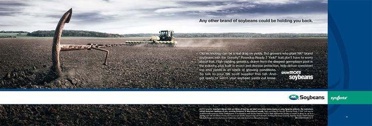 NK Soybeans print ad