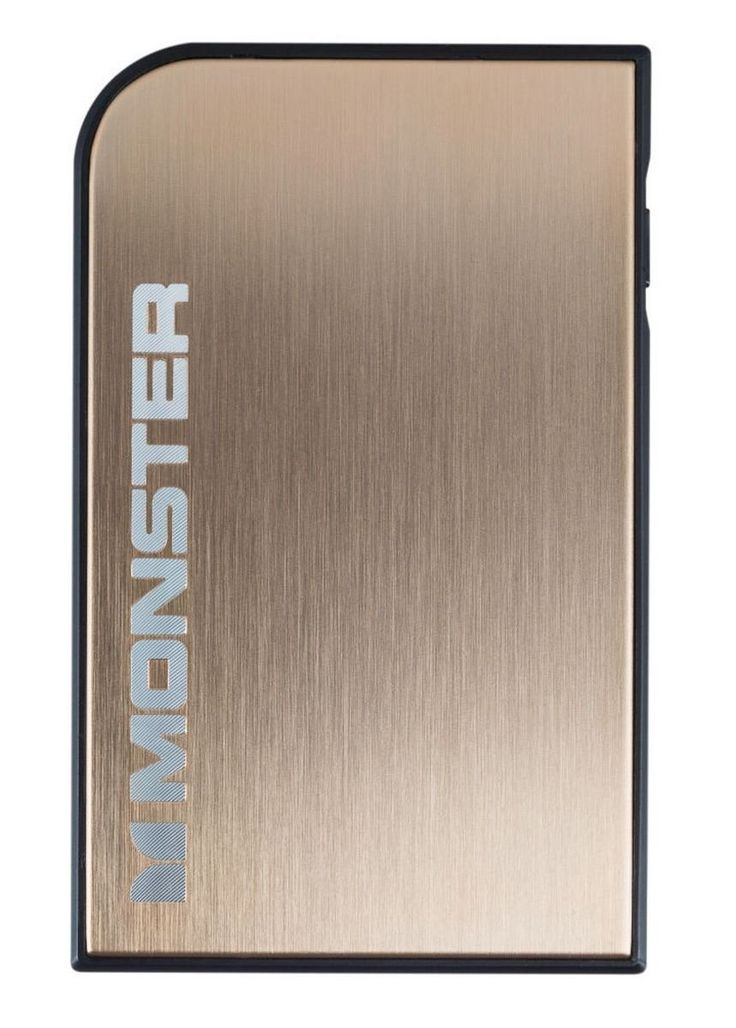 Monster Mobile PowerCard Turbo Portable Battery, Champagne Gold