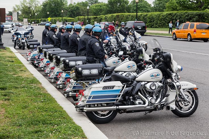 Arlington Cemetery Motorcycle Guard