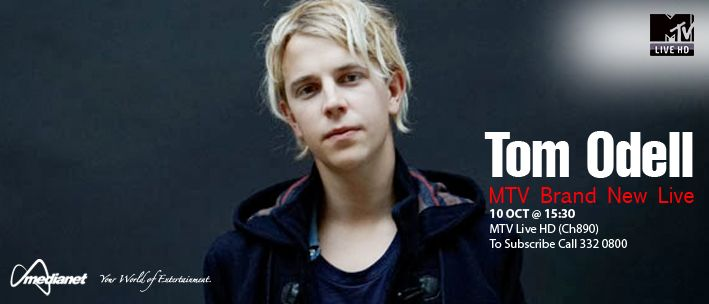 Tom Odell: MTV Brand New Live - Join us as singer-songwriter, Tom Odell, performs some of his biggest hits live.