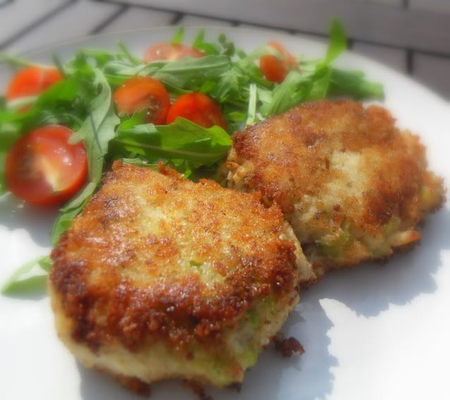 The English Kitchen: Colcannon Haddock Fish Cakes