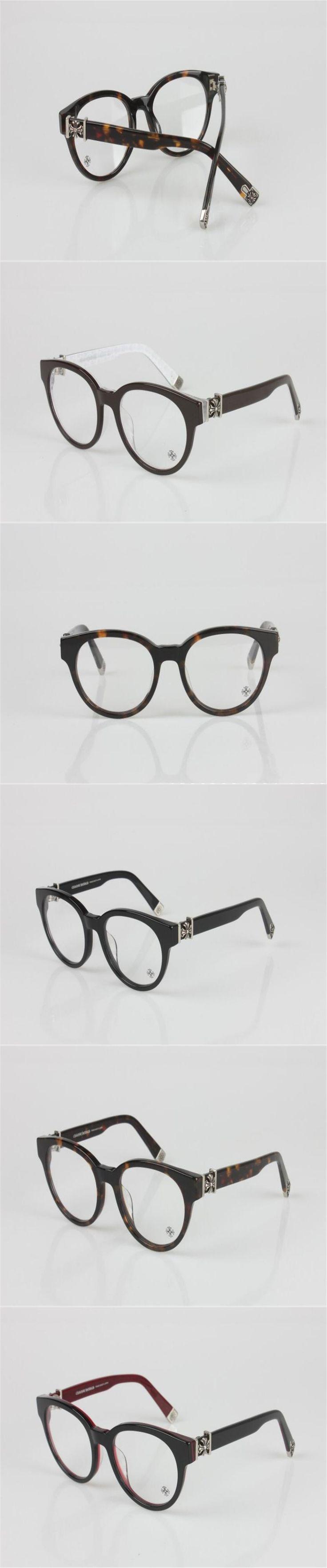 DOWER ME Optical Eyewear Unisex Fashion Round Glasses Acetate Full Rim Black Myopia Frame Reading Spectacle Eyeglasses