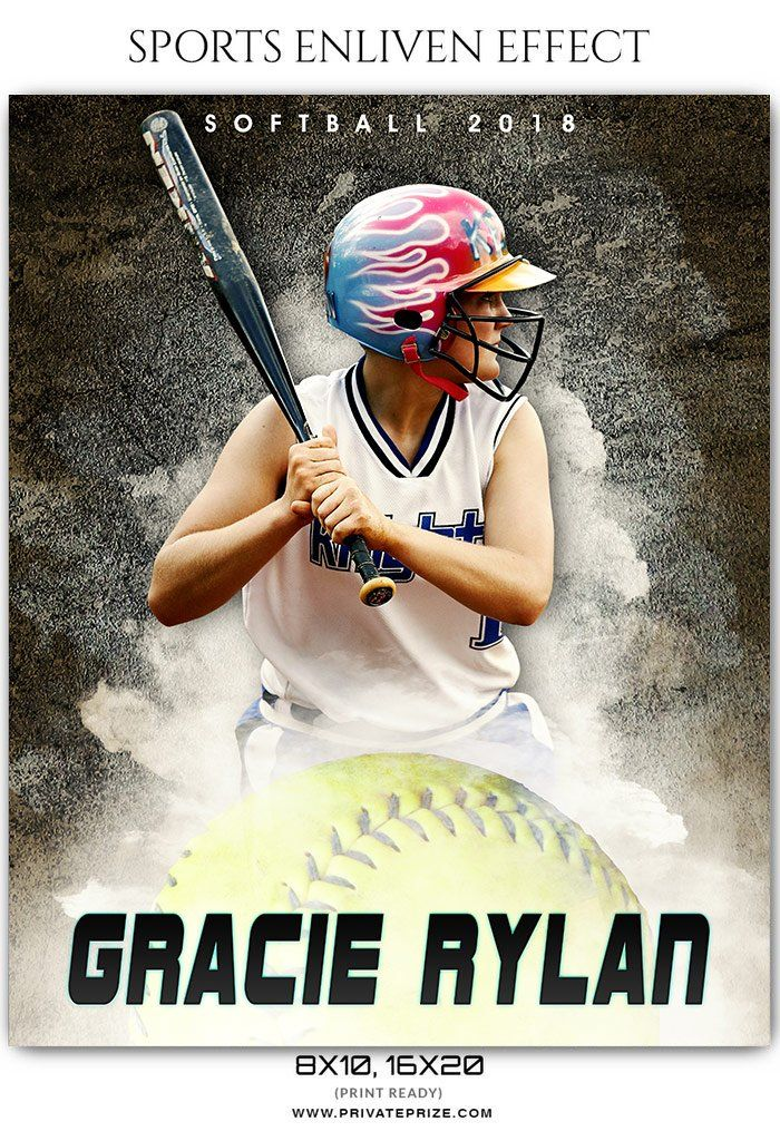 Best Softball Sports Photography Template Images On