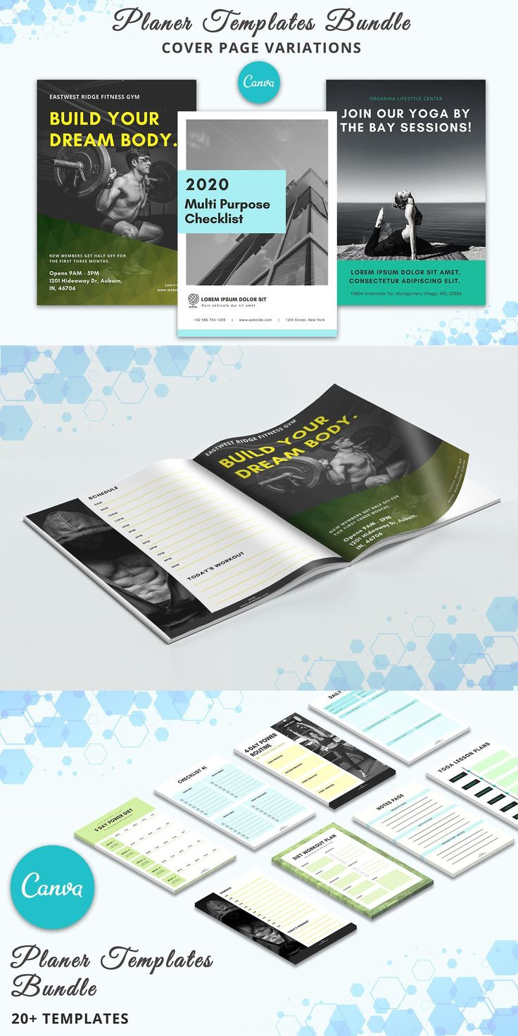 Planner Bundle - Canva Templates