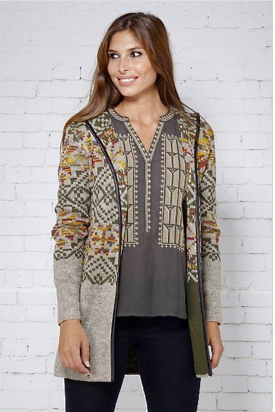 Peace and Love chaqueta tricotosa - Complementos Zeppelin