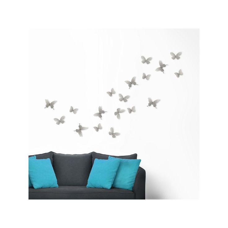 Umbra Wall Decor Butterflies : Best ideas about butterfly wall on