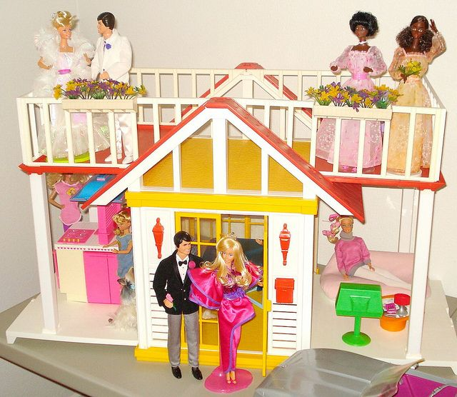 Barbie Dream Cottage by Mattel  1982. 17 Best images about barbie houses on Pinterest   Mall of America