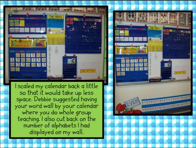 **Must read before school starts  Chalk Talk: A Kindergarten Blog: Spaces and Places Room MakeoverClassroom Places, Classroom Calendar Area, Chalk Talk, Room Arrangements, Kindergarten Blogs, Places Room, Room Makeovers, Classroom Ideas, Classroom Organic