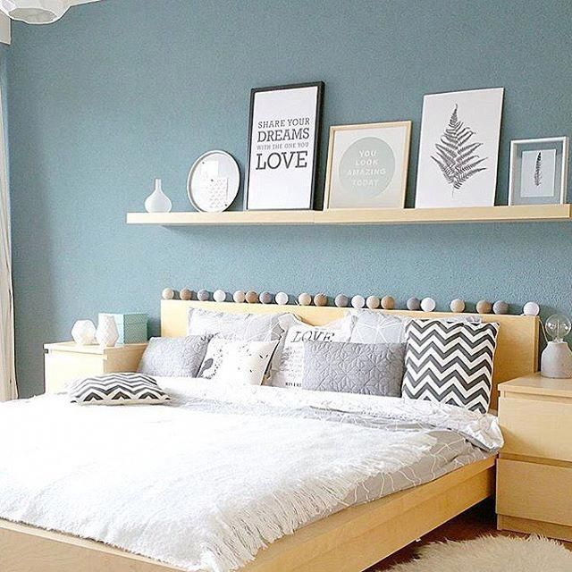 Picture Ledge Above Bed Bedroomdecor Bedroom Wall Decor Above Bed Above Bed Decor Wall Decor Bedroom