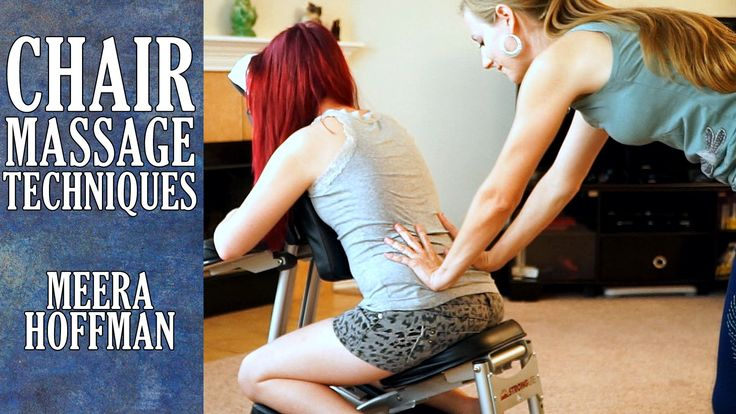 Chair Massage Techniques for the Back, Relaxation, Back Pain Relief, Austin Chair Massage