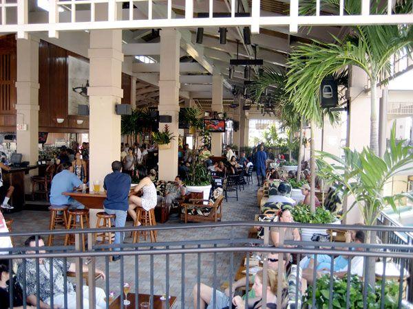 Mai Tai Bar, Ala Moana Center. Honolulu, Hawaii.