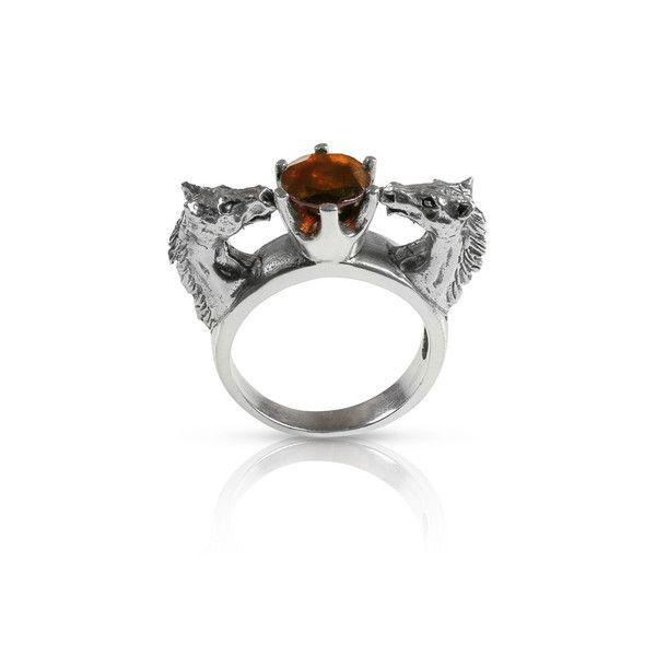 Double horse ring by Nick Von K