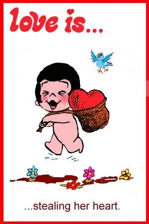love is... stealing her heart kim grove casali comics