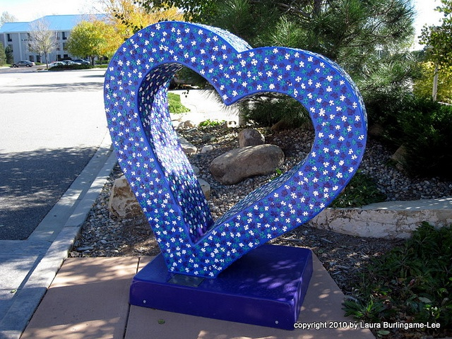 Loveland, Colorado has 18 of these beauties displayed around town. Fun to find and photograph.