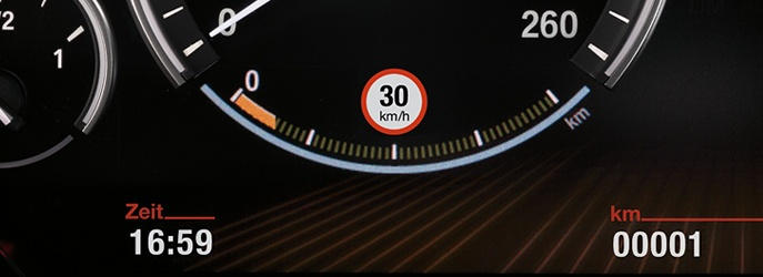 Speed Limit Info : BMW ConnectedDrive