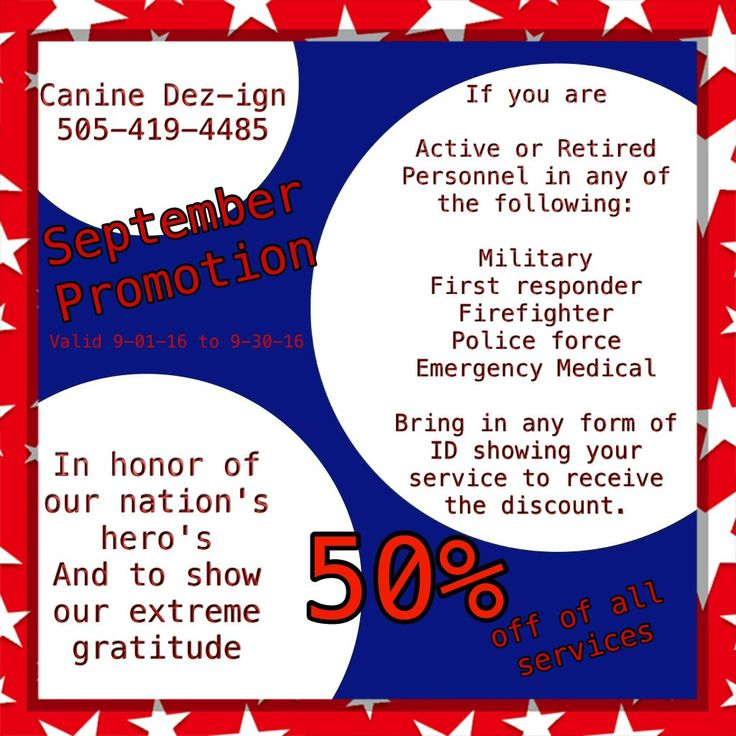 We at canine dezign wish to honor our nations heros
