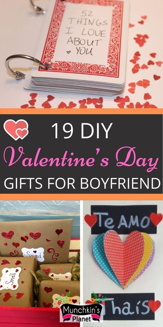 19 Trendy Valentine S Day Gifts For Boyfriend Cute Diy Romantic Valentines Day Gift In 2020 Romantic Diy Gifts Diy Valentine Gifts For Boyfriend Diy Valentines Gifts