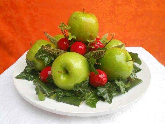 Centrotavola di mele e peperoncino