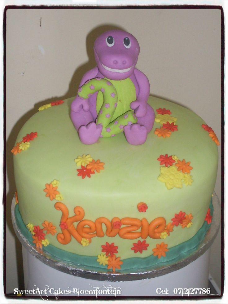 BARNEY CAKE For more info & orders, email SweetArtbfn@gmail.com or call 0712127786.  Follow us on Facebook https://www.facebook.com/SweetArtCakesBfn