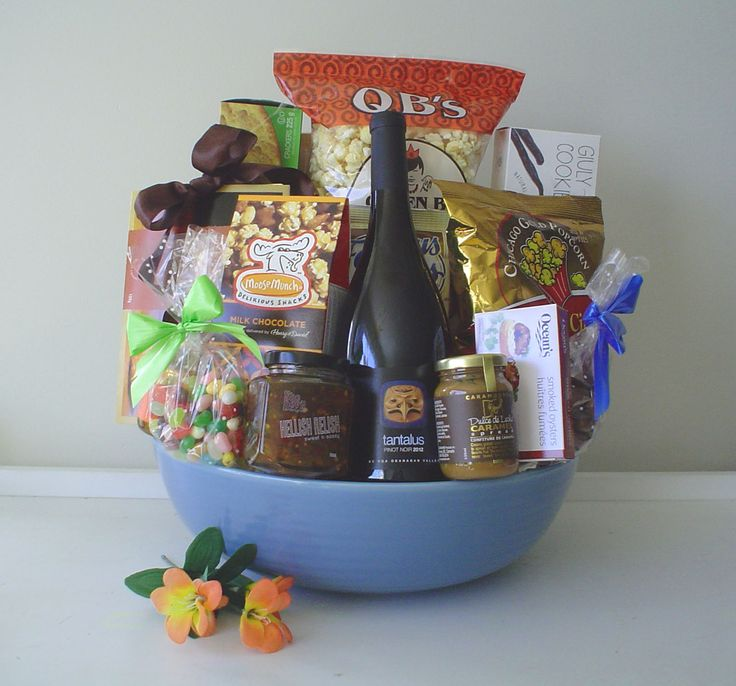 GORGEOUS GIFT BASKETS---by pinkshark.ca  http://www.pinkshark.ca