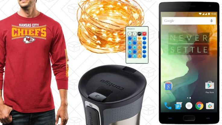 Today's Best Deals: Unlocked Smartphones NFL Apparel Your Favorite Travel Mug