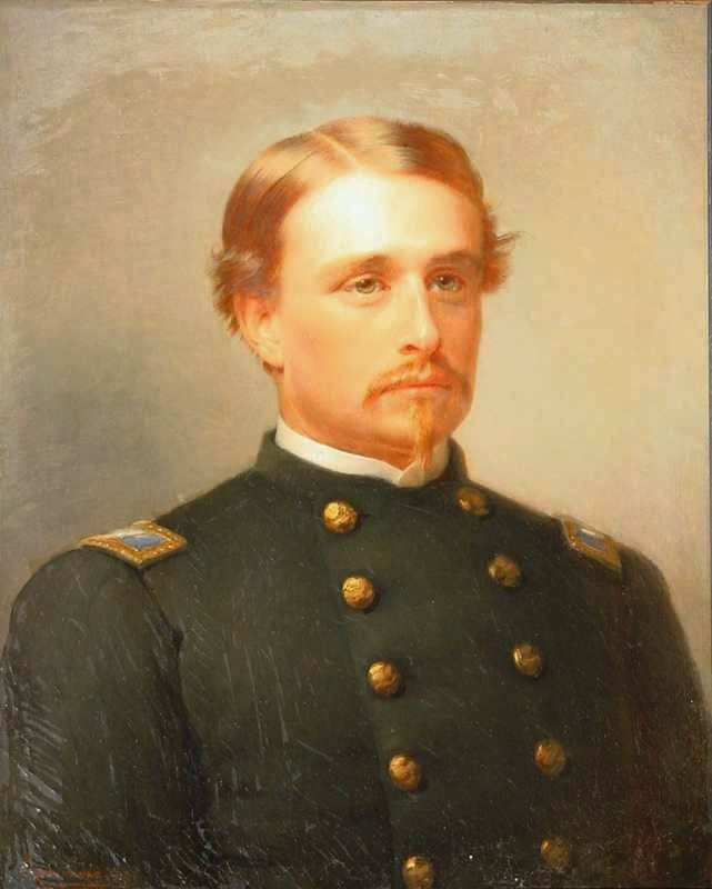 Robert Gould Shaw Leads the 54th Regiment