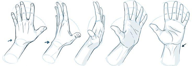 Рисование рук - советы и референсы