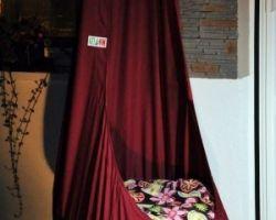 GitaMom Swing Chair, Indoor Outdoor Hanging Seat, Reading Nook, XL swing