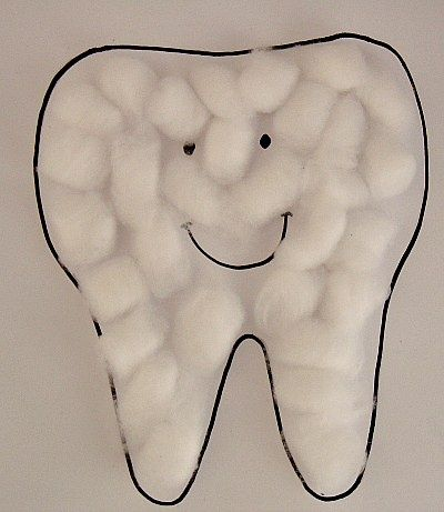 Simple and Fun Craft to teach children about Dental Health!