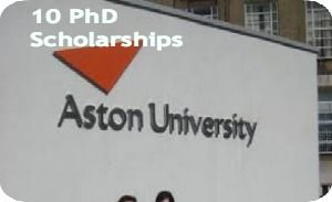 10 PhD Scholarships for International Students at Aston University in UK and The application deadline for October 2014 entry is 20th  June 2014 or For January 2015 Entry is 1st August 2014. Applications are invited for PhD scholarships available for international students in the School of Life and Health Sciences at Aston University. - See more at: http://www.scholarshipsbar.com/10-phd-scholarships.html#sthash.Ykb2Jlhs.dpuf