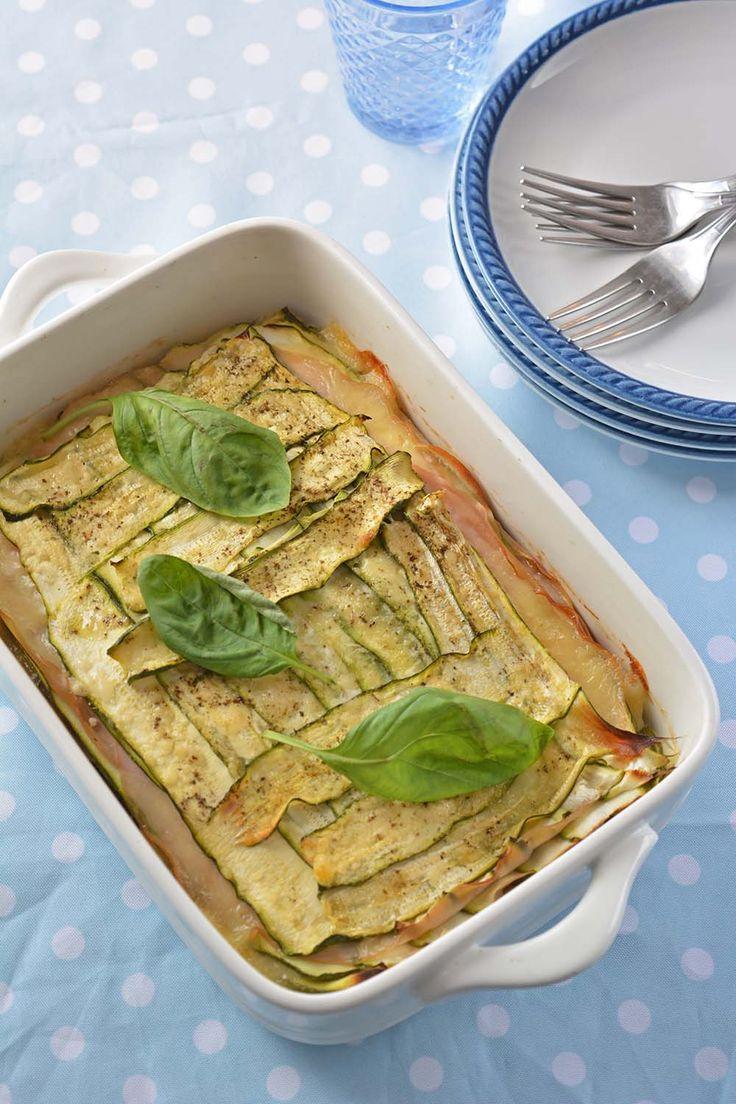 Parmigiana estiva di zucchine in bianco ~ Morsi di Stile - Storie e spunti(ni) di gusto