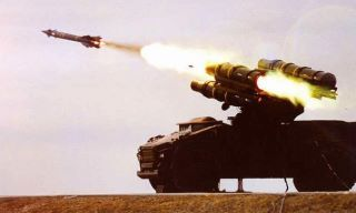 Ground to Air Missile Launcher