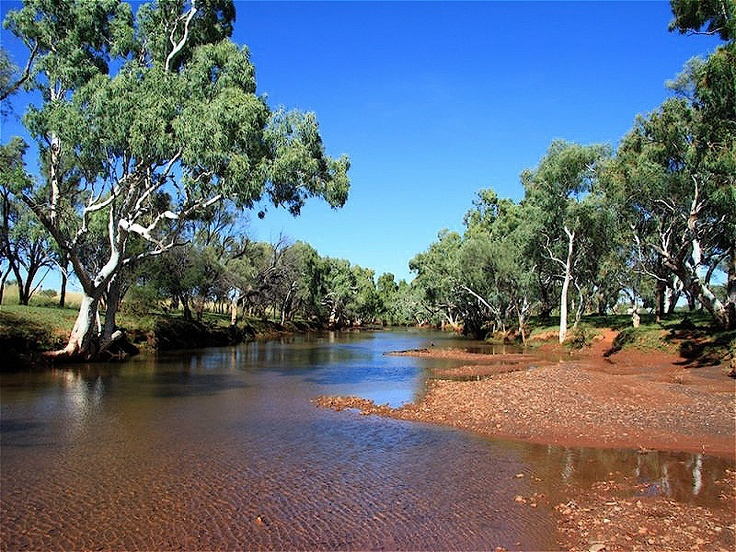 Creek, Newman, Pilbara Region, Western Australia
