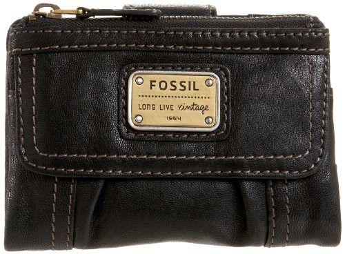 Billetera Fossil Emory Multi-Función Negro | $195,000.00