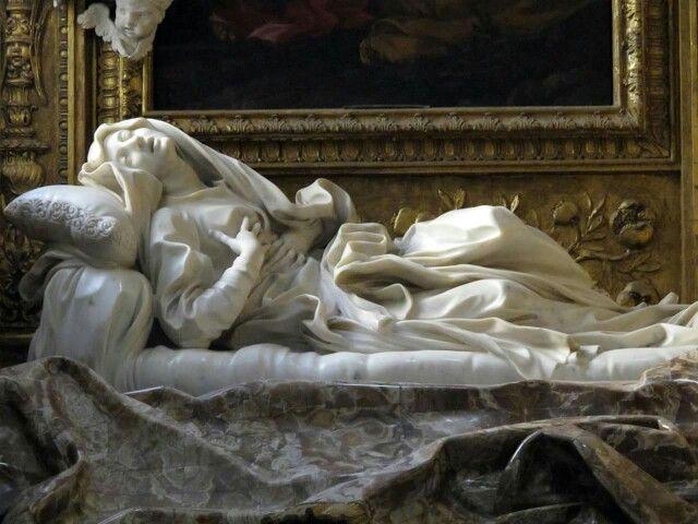 """Blessed Ludovica Albertoni"" Bernini"