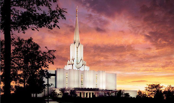 Jordan River Utah Temple of The Church of Jesus Christ of Latter-day Saints. #LDS #Mormon
