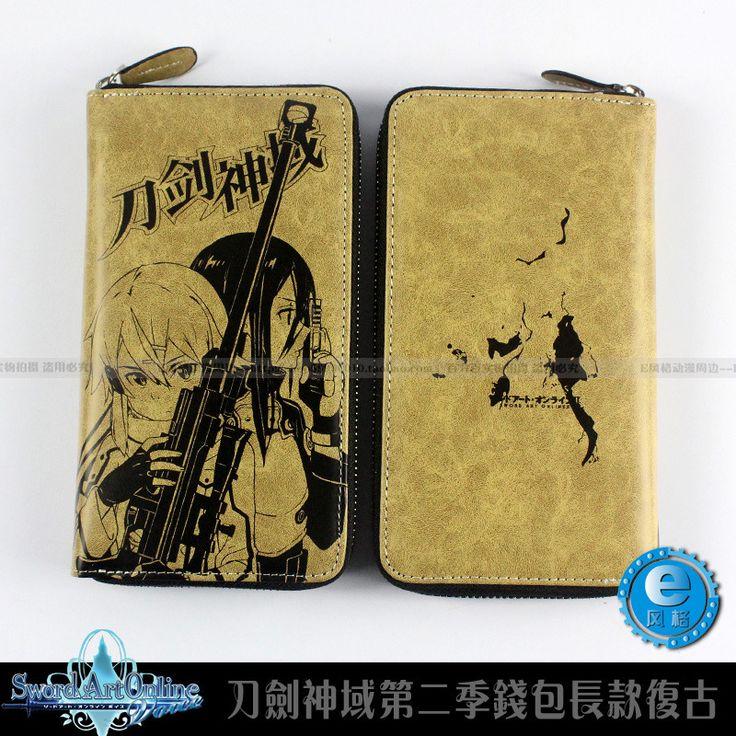 $14.79 (Buy here: https://alitems.com/g/1e8d114494ebda23ff8b16525dc3e8/?i=5&ulp=https%3A%2F%2Fwww.aliexpress.com%2Fitem%2FJapan-anime-Sword-Art-Online-wallets-SAO-cosplay-long-PU-leather-wallet-card-holder-purse-coin%2F32657338704.html ) Japan anime Sword Art Online wallets SAO cosplay long PU leather wallet card holder purse coin pocket zip purse for just $14.79