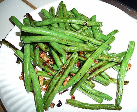How to Cook Fresh Green Beans - Easy Stir Fry Recipe for Cooking Fresh Green Beans