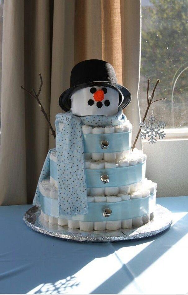 Gift Ideas - diaper gift for winter baby