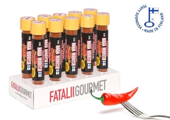 Fatalii Gourmet Chilijauheet fataliigourmet.net