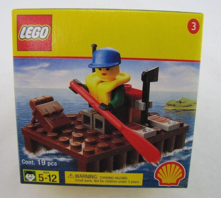 LEGO 2537  EXTREME TEAM RAFT SET  2000 Shell Oil Promo Promotional  #3 of 10