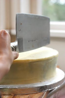 make your own wedding cake. Meh to the cake recipe but the other info is helpful