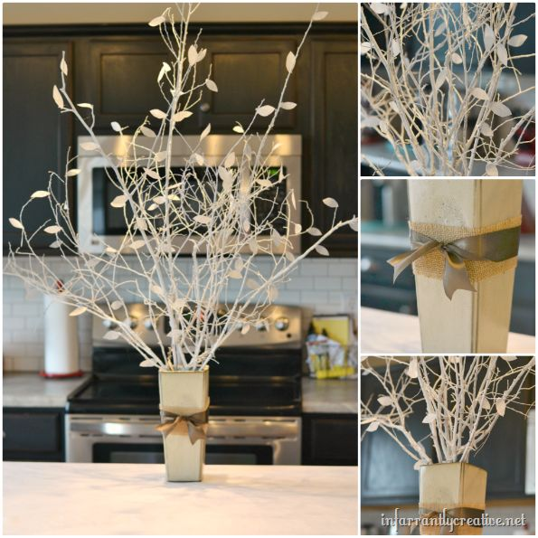 Best decorating with tree branches images on pinterest