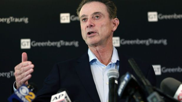 Rick Pitino says Louisville should sue NCAA over vacated wins title