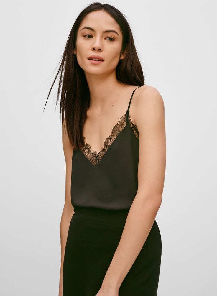 BABATON GALEN CAMISOLE - Things just look prettier when they're trimmed with lace